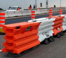 Water Filled Barriers | Transpo Industries