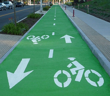Color-Safe® Bike Lanes