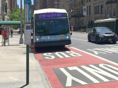 Image c/o the NYCDOT website article: 79th Street Select Bus Service linked in article