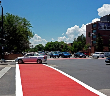 Colored Crosswalks